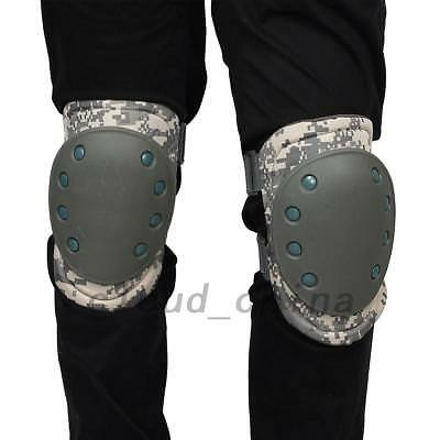 4pcs Knee Elbow Protective Pad Tactical Cycling Adjustable Protector Gear Strong