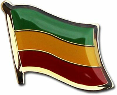 Wholesale Pack of 6 Indonesia Country Flag Bike Hat Cap lapel Pin
