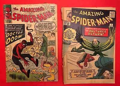 Amazing Spider-Man #5 and #6  - Reader Books - Marvel Silver Age