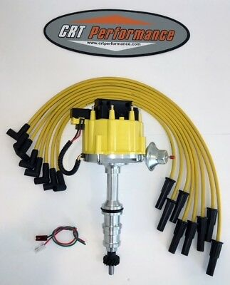 Ford Fe  332,352,360,390,406,427,428 Electronic Ignition Hei Distributor + Wires