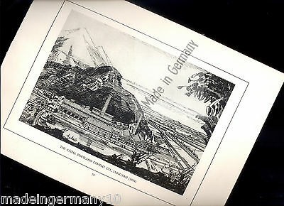 """The PORTLAND CEMENT CO., LUNGTAN "" historischer Kunstdruck 1923 TAIWAN cement"