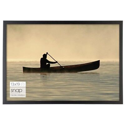 Black Poster Picture Frame 13 X 19 In Photo Vertical Horizontal Wall