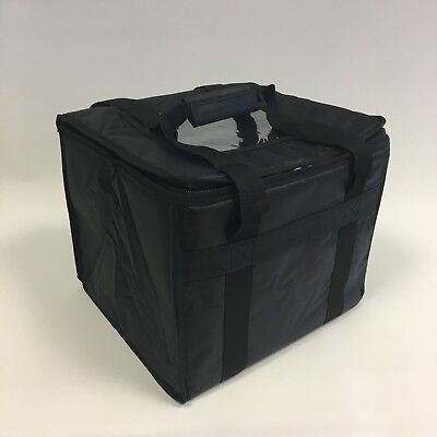 "TAKEAWAY DELIVERY BAGS 11"" x 12"" x 13"" CHINESE INDIAN KEBAB WARM FOOD BAG T16"