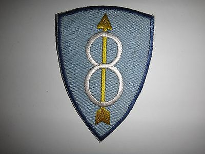 "US Army 8th INFANTRY Division GOLDEN ARROW ""CRAZY EIGHT"" Patch"