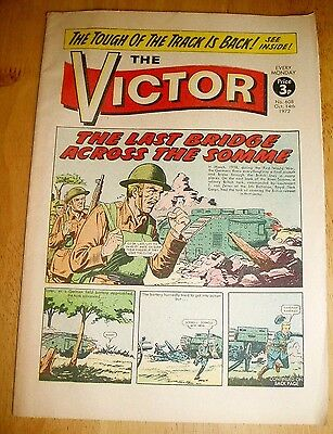 ROYAL TANK CORPS v GERMANS AT THE SOMME  WW2 COVER STORY VICTOR 1972