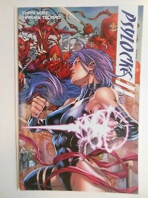 Psylocke #1 Variant Printing In Vf Or Better Condition