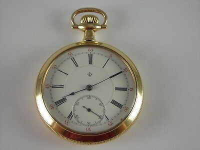 Antique 16s T. Eaton Co. 21 jewel pocket watch. High grade. Runs and keeps time