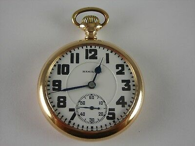 Antique Hamilton 992 16s, 21j pocket watch. Runs great & keeps good time. 1927