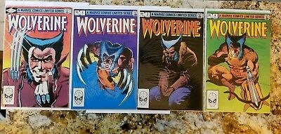 Wolverine 1-4 1982 Full set!!! Check it out!