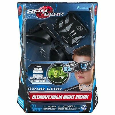 Spy Gear Ultimate Ninja Night Vision Infrared See up to 30 Feet Away in the dark