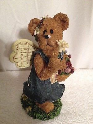 2002 Boyds Bears- Longaberger, Posie Picksabunch  Ltd Ed  Style #2277912LB