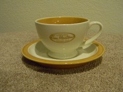 Tim Horton's Always Fresh Toujours Frais Cup and Saucer Set