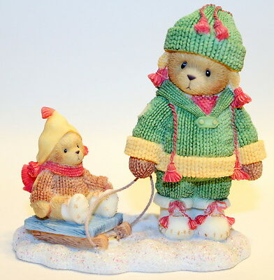 Cherished Teddies 2002 Marge and Nell Friends Always Help You Pull 104656