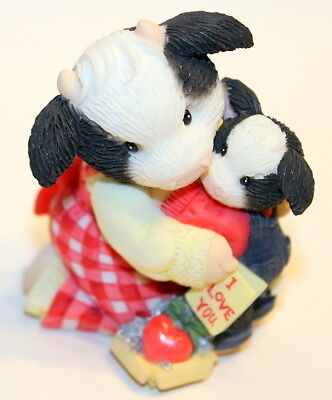 Mary's Moo Moos Enesco 2004 At Christmoos Give Your Heart 118275