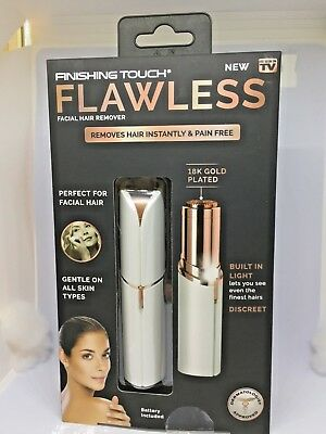 NIB! Women's Hair Remover Painless Finishing Touch Flawless Hairless Amazing