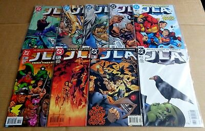 9  New/unread Dc Comics Justice League Of America/jla 11,12,22,26,29,30,58.66,67