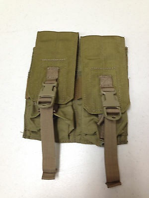 Eagle Industries Double Fits Mag Lightweight Pouch Dbl 2 Mags Per Pch Khaki
