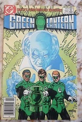 Green Lantern #184 Vf+1985 Gil Kane Key Newsstand Edition Key Comic 1