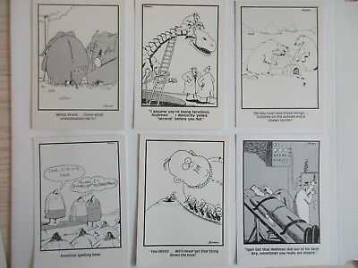 (12) The Far Side Postcards Vintage 80's  NEW UNUSED Set of 12 Different Cards
