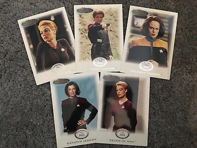 Women Of Star Trek  - 5 Card Archive Collection Expansion Set G1-5 (172 / 999)