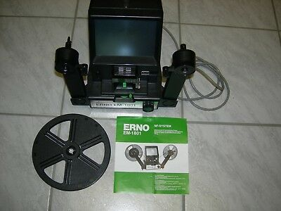 ERNO EM1801 NF System Filmbetrachter für Super/Single 8
