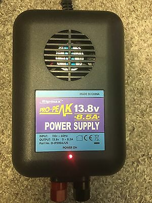 Ripmax Pro-Peak 13.8v 0-8.5A Power Supply New!