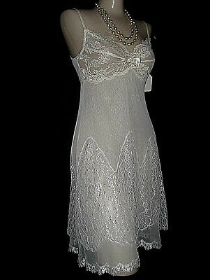 Claire Pettibone Bridal Wedding Ivory Lace Cordelia Chemise S NeW $195 Couture