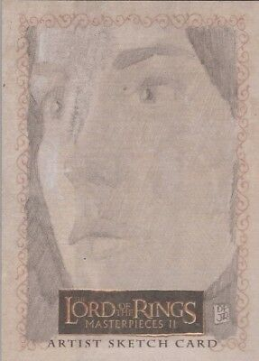 """Lord of the Rings Masterpieces II - Don Pedicini Jr """"Arwen"""" Sketch Card"""