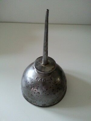 "Vintage Eagle Made In USA 4"" Oil Can Thumb Pump"