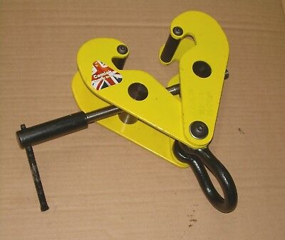 Girder / Beam Clamp, Lifting Tool, SWL 2 tonnes, 75-210mm Wide, Used Once, VGC!
