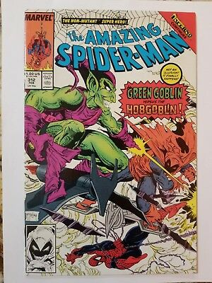 The Amazing Spider-Man #312 (Feb 1989, Marvel) Todd McFarlane cover!