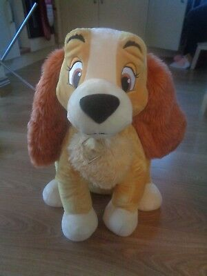 Disney Store Exclusive Large Lady & the Tramp Soft plush Lady Dog Soft Toy 20?