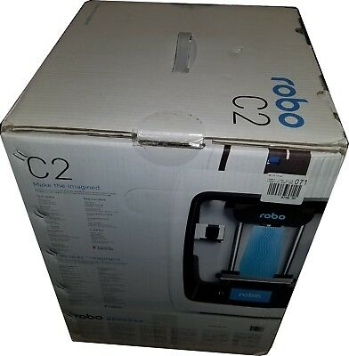Robo 3D C2 Compact Smart 3D Printer with Wi-Fi A1-0007-000 NEW