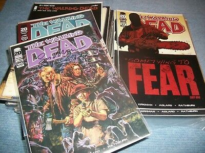 The Walking Dead Nr.97-169 Komplett Run + Nr.100 Variant signiert Sean Philips