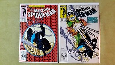 Amazing Spider-Man #300: First full appearance of Venom. Plus ASM #298.