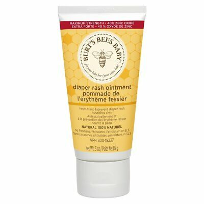Burts Bees Baby Bee 100% Natural Diaper Rash Ointment - 3 Ounce Tube