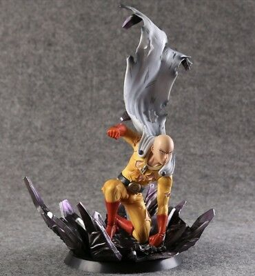 😱One Punch Man Saitama PVC statue figure 10in. Hero come back from the moon
