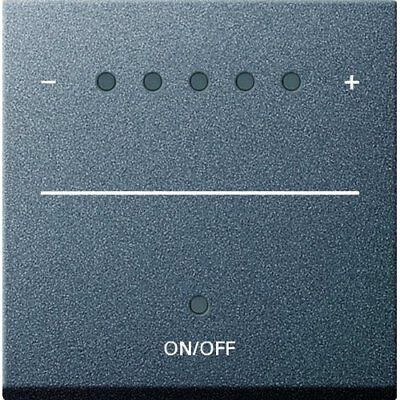 Gira System 55 System 2000 226028 Touch Dimmer Switch Anthracite