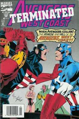 Avengers West Coast #102 in Near Mint condition. FREE bag/board