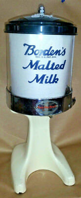 Hamilton Beach 20D Malt Dispenser/Malted Milk/ Soda Fountain Borden ' s 1927