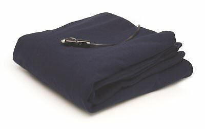Roadpro 12-Volt Polar Fleece Heated Travel Blanket ( 58 x 42.5 Inch )