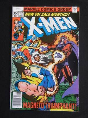 X-Men #112 MARVEL 1978 - NEAR MINT 9.6 NM- Wolverine, Colossus, Storm, Cyclops!!
