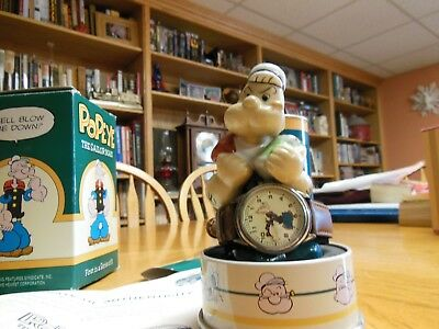 Popeye The Sailor Man Watch  - 1994 Fossil Limited Edition