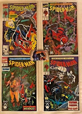 Lot 4 Spider-Man Comics Todd McFarlane Covers VF/NM #7 #8 #9 #10 Marvel Comics