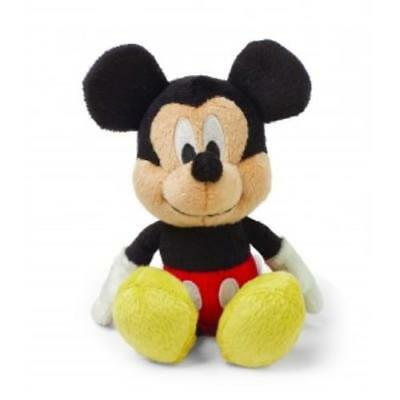 NEW Disney Baby Mickey Mouse Jingle Bell Rattle Soft Toy 20cm