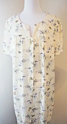 SIMPLY BASIC Hospital Baby Delivery Yellow Floral Maternity Sleep Open Gown