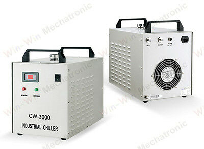 Industrial Water Chiller For 0.8KW 1.5KW CNC Engraver Machine AC220V CW-3000AF