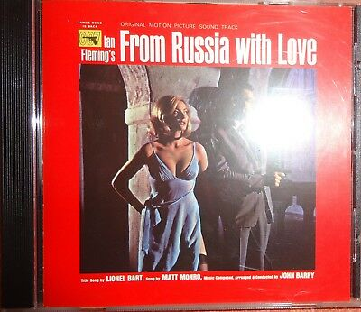John Barry From Russia With Love 180 Gram Vinyl Lp Mp3