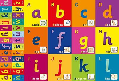 A2 Alphabet Frieze Poster/ educational / learning / literacy