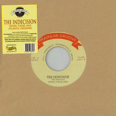 "Indecision, The - Swing Those Hips / Atlantic C (Vinyl 7"" - 2017 - EU - Reissue)"